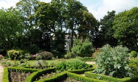 jardin de la Maison des Arts à Bagneux