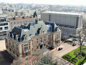 Hôtel de ville et église de Montrouge