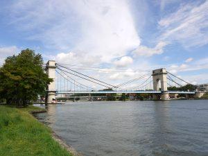 le pont suspendu de Vitry sur Seine