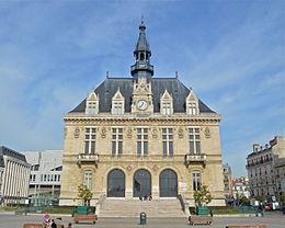 hôtel de ville de Vincennes (Val de Marne)